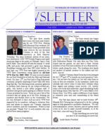 VFW Post 9639 Newsletter Fall 2010C