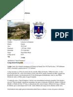 Loriga Wikipedia - Enciclopédia Livre - Artigo Criado Pelo Historiador António Conde