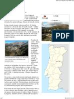 Loriga – Wikipedia - A Enciclopedia Livre - Artigo Criado Pelo Historiador António Conde
