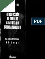 Ekmedjian Introduccion al derecho comunitario latinoamericano.pdf