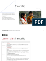 Lesson Plan 2 - Friendship