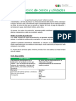 Guia y Ejercicios de Costos y Utilidades