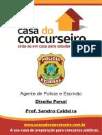 Apostila Pf Agente de Policia Escrivao Direito Penal Sandro Caldeira