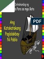Pauls Amazing Travels Tagalog PDA