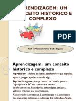 Aprendizagem Um Conceito Historico e Complexo