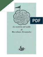 Macedonio Fernandez La Materia Del Nulla  PDF