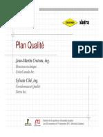 7 Elaboration Plan Qualite Jm Croteau