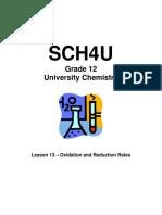 SCH4U - Unit 4 - Version C