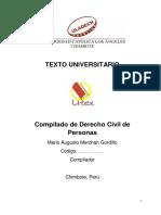 Compilado de Derecho Civil de Personas