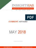InsightsonIndia May 2018 Current Affairs