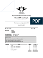 FAC33A3 Exam Questions 2015 Moderated Docx