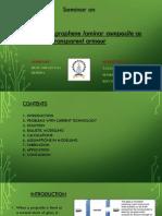 seminar ppt on polyurethane
