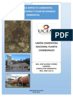 EsIA Complementario UCEM Planta Chimborazo