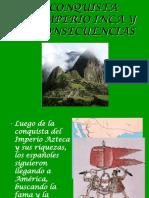 Conquista Del Imperio Incaico