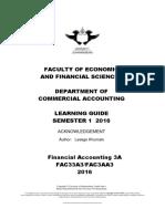 Study Guide FAC33A3 2016(2)