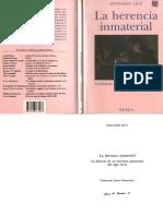 Giovanni Levi - La herencia inmaterial.pdf
