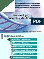 Clasificación Biotecnologia