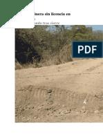 Allanan Minera Sin Licencia en Guatemala Articulos 347-347
