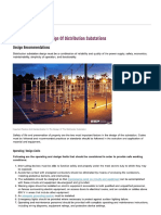 Important Factors in Design of Distribution Substations _ EEP