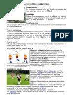 Aspectos Tecnicos Del Futbol