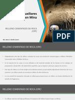 Relleno Cementado de Roca - 2018-1