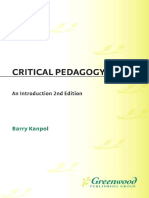 Barry Kanpol-Critical Pedagogy_ An Introduction, 2nd Edition (Critical Studies in Education and Culture Series) (1999).pdf