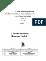 Engleza Litera B Romana-Engleza
