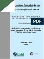 Aplicando conceitos e práticas de governança de TI na Administração Pública