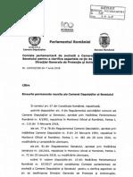 Raport Comisie SIPA
