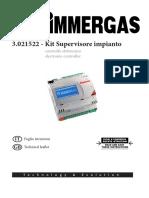 Kit Supervisore Impianto INSTALLAZIONE 1 030877