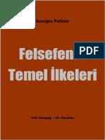 Georges Politzer - Felsefenin Temel Ilkeleri.pdf