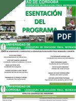 Presentacion de Lalicenciatura en Efryd 2016