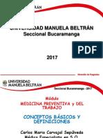 Modulo Medicina Preventiva y Del Trabajo - Conceptos