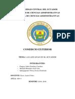 Las Aduanas en El Ecuador Gobierno Rafael Correa