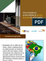 Acoso Escolar en El Ecuador