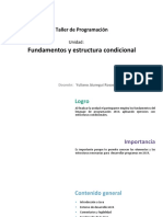 U1 Fundamentos Estructura Condicional Ultimo