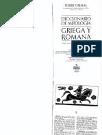 Grimal Pierre - Diccionario de Mitologia Griega Y Romana