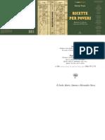 20120709 Ricette Per Poveri Volume