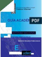 Defensa Nacional Guia Academica