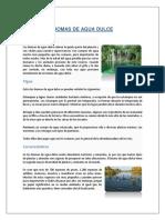Biomas de Agua Dulce