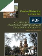 Presentación Taller Clasificación y Beneficios de Inmuebles Patrimoniales en San Gil