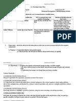 sample lesson plan version 3