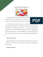 Medicacion Post Exodoncia