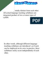 (5) Types of Syllabi (1) 13