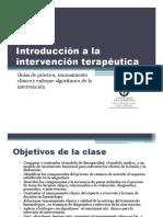 Clase1. Introducción a La Intervención Terapéutica[1]