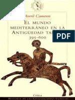 El Mundo Mediterraneo en La Antiguedad Tar - Averil Cameron