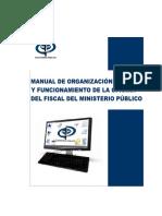 Organizacion y Funcionamiento Del Ministerio Público
