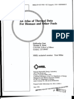 An Atlas of Thermal Data for Biomass and Other Fuels