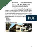 Informe de Visita Tecnica a La Planta Piloto