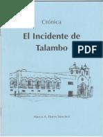 EL INCIDENTE DE TALAMBO